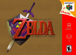 Ocarina of Time box art N64