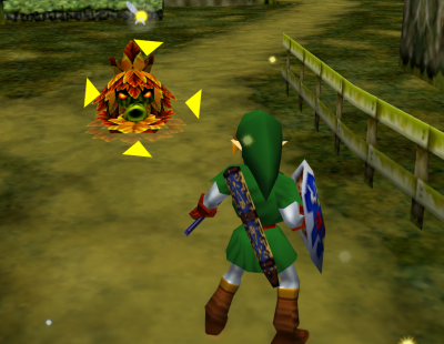 Z-targeting Ocarina of Time