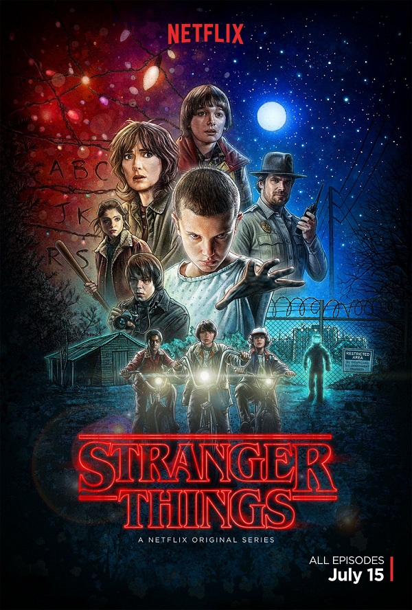 stranger things teaser poster